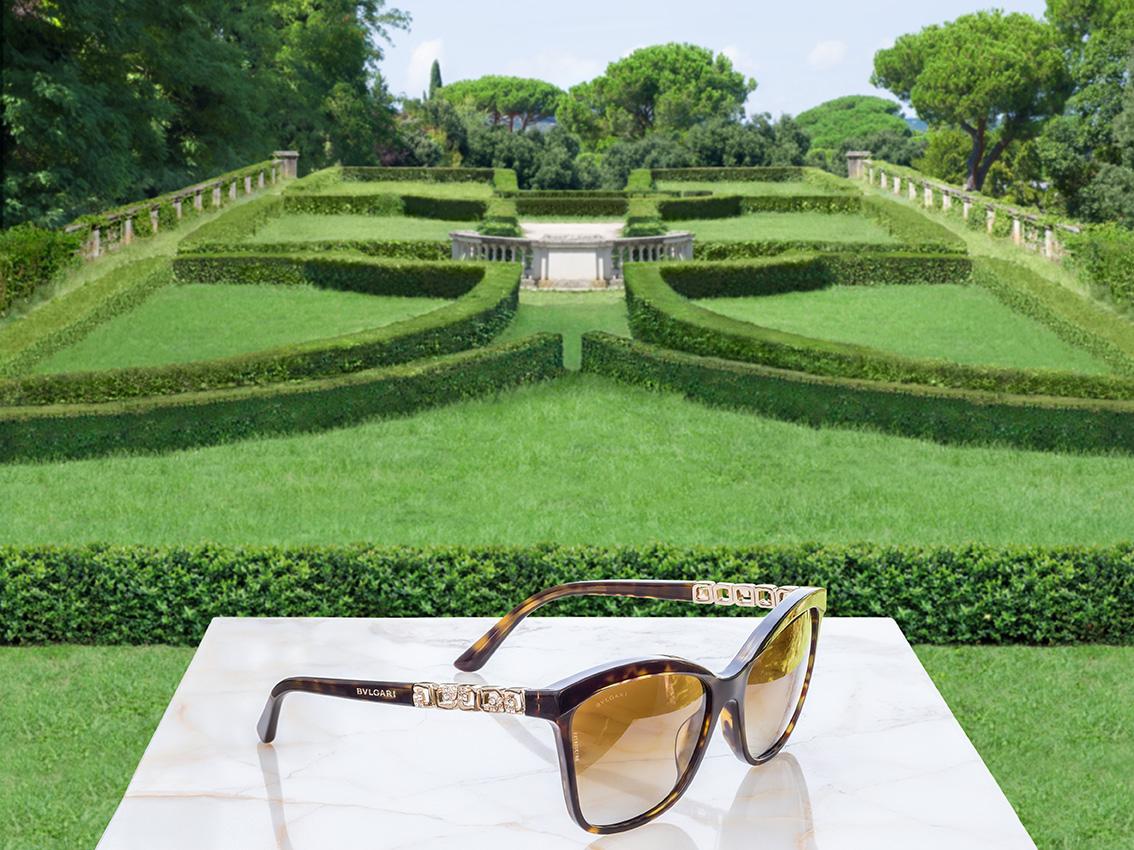 ccbabe4ad BVLGARI: Okuliare inšpirované talianskými záhradami - Optika Klaudia
